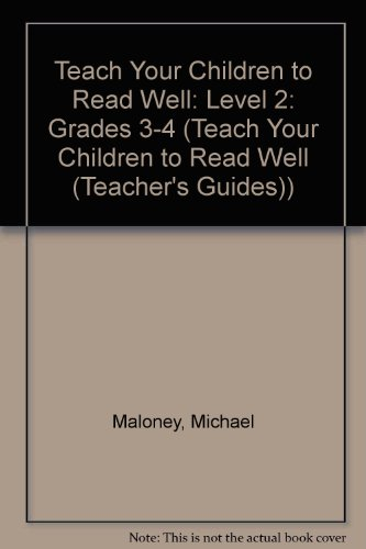 Teach Your Children to Read Well Level 2: Instructor's Manual
