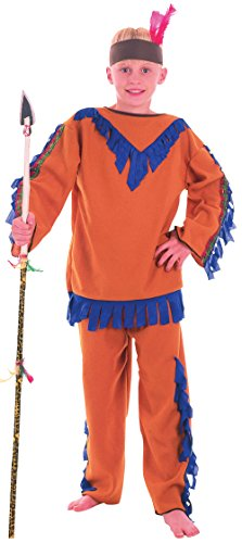 Indian Boy. Budget (L) (Childrens Costume) - Male - Large, 9-12 Years.