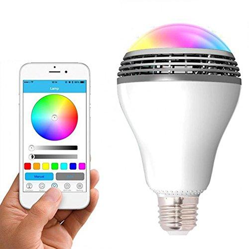 Bureau national nouvelle playbulb haut parleur bluetooth - Lampe bureau led sans fil ...