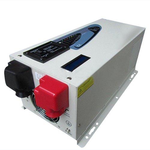 Gtsun 2000W Ac Input 220V Split Phase 110V 220V Ups Inverter , Max 6000W Pure Sine Wave Inverter Charger 65A 12V With Lcd Screen
