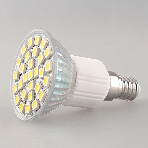 Lsd (Pack Of 10) E14 Socket 5W 29 Led 5050 Smd Globe Light Bulb Lamp Spotlight Pure Cool Day White Home House Office Store Exhibition Shop Ac 220V