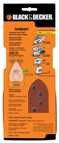 Black & Decker 74-672 Medium Mega Mouse Paper, 120-Grit