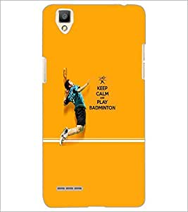 PrintDhaba Quote D-5951 Back Case Cover for OPPO F1 (Multi-Coloured)