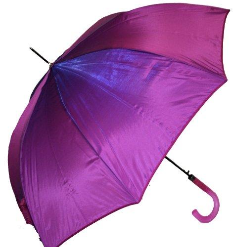 Jani Markel Womens Iridescent Material Umbrella Purple/Pink