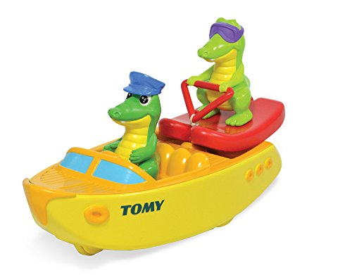 TOMY Kids Ski Boat Crocs Toy