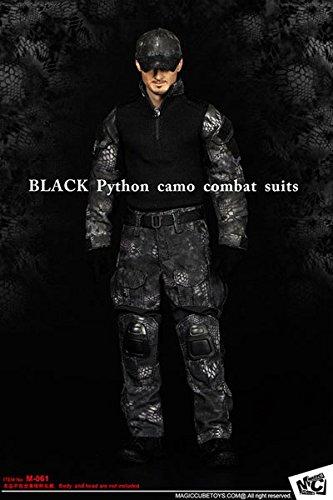 【フィギュア 買取】1/6 ブラック パイソン カモ コンバット スーツ セット