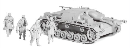 Buy Low Price Dragon Models Cyber Hobby 1/35 StuG. III Ausf.C/D with 7.5cm L48 with bonus German Figure set and Magic Tracks (B003IAUF72)