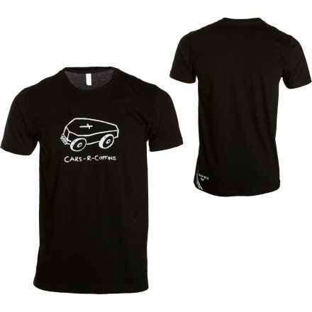 Buy Low Price Twin Six Cars R Coffins T-Shirt – Short-Sleeve – Men's (B008MNQLH8)