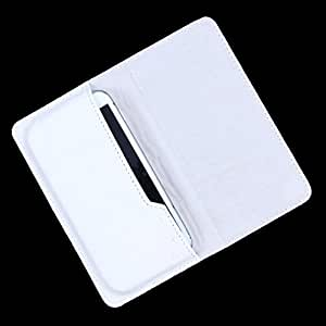 Dooda Genuine Leather Flip Pouch Case For Sony Xperia S (WHITE)