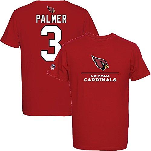 Majestic-Carson-Palmer-3-Arizona-Cardinals-Aggressive-Player-NFL-T-Shirt-L