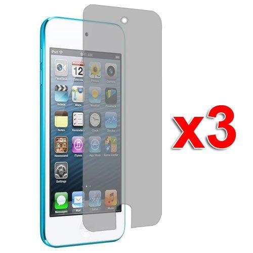 3X Anti Glare Matte Lcd Screen Protector Cover Films For New Ipod Touch 5Th Generation 5G 5