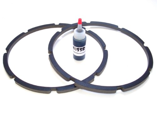 "10"" Pro-Grade Jl Audio Replacement Gaskets - Adhesive Incl"