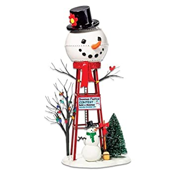 #!Cheap Department 56 Snowman Watertower