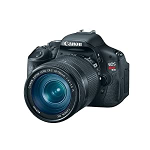 Canon EOS Rebel T3i Digital SLR Camera with EF-S 18-135mm IS Lens