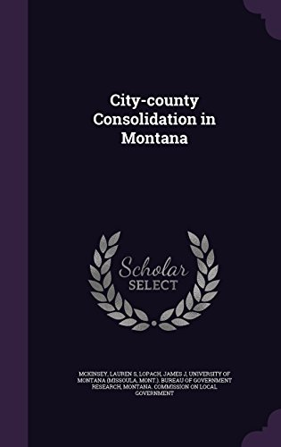 City-county Consolidation in Montana