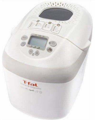 T-fal 【食パンだけでなくバゲットも作れるホームベーカリー / 2斤まで対応】 ホーム&バゲット OW600370