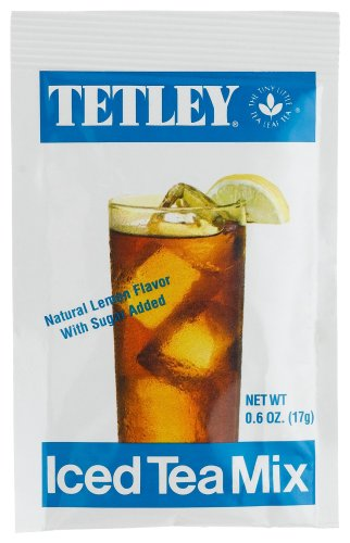 Buy Tetley Iced Tea Mix, 25-Count Single Serve (Pack of 8) (Tetley, Health & Personal Care, Products, Food & Snacks, Beverages, Tea)