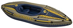 Buy INTEX Challenger K1 Inflatable Kayak Kit with Paddle & Pump by Intex