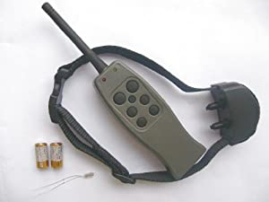 Remote Control Dog Training Shock Collar with 6 Level of Strong Shock
