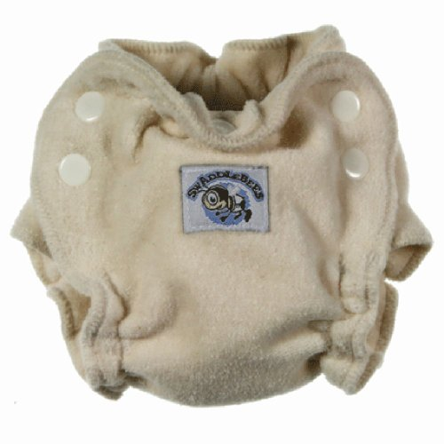 Swaddlebees Newborn Organic Cotton Fitted Diaper - 1