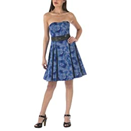 Alexander McQueen® for Target Tattoo Print Straplss Dress - Blue : Target from target.com