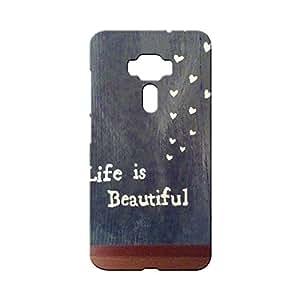 BLUEDIO Designer Printed Back case cover for Asus Zenfone 3 - G2397