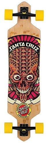"Santa Cruz, Longboard Tiki Skull Bamboo, 9 x 38"""