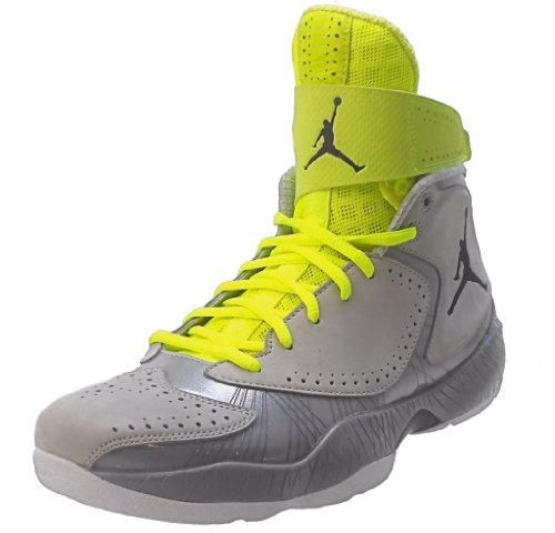 Nike Men's NIKE JORDAN 2012 BASKETBALL SHOES 12 (WOLF GREY/BLACK/SILVER ICE/WHITE)