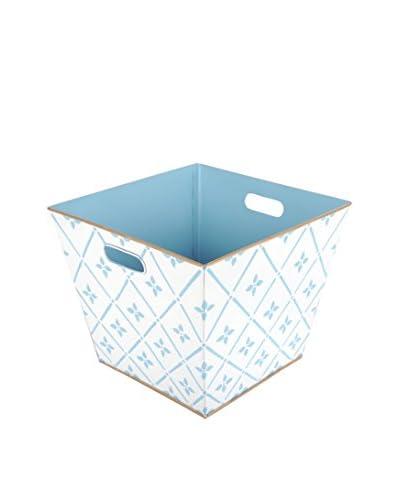 Jayes Flora Storage Bin, Blue