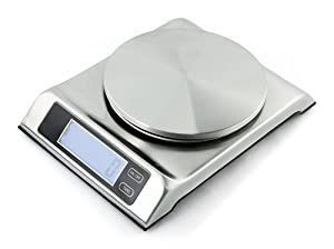 13 lb. Capri Stainless Steel Professional Food Scale by ZUCCOR by ZUCCOR