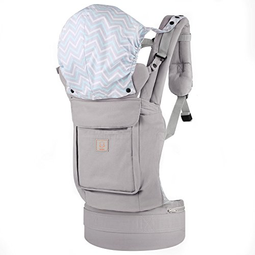 GAGAKU-Soft-Front-and-Back-Toddler-Baby-Carrier-with-Pockets-3-Carrying-Positions