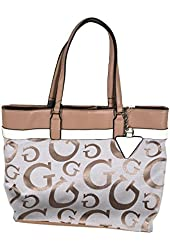 Guess Purse Buenos Dias Tote in Nude FF493925