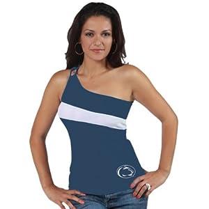 Penn State Nittany Lions Junior Ladies Destiny One Shoulder Top by Rtexx Enterprises Ltd/ Breathe/ Klutch