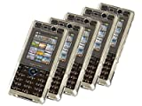 Hard PolyCarbonate Clear (Transparent) Crystal Case Cover 5 PACK For Sony Ericsson K810i