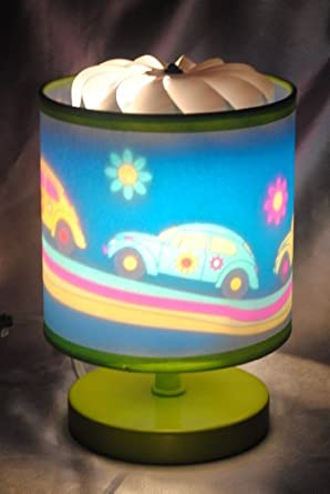 Magic Spinning Lamp Groovy Cars Lamp Table Lamps
