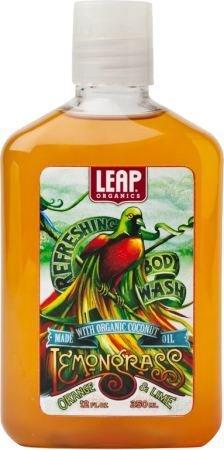 リープ オーガニックス Organic Lemongrass Body Washオーガニックレモングラスーウォッシュ384mL 13fl.oz