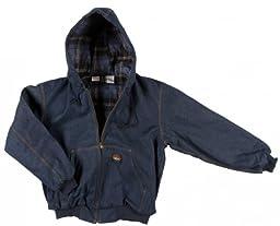 Rasco Fire Retardant BLUE DENIM Insulated Hooded Jacket