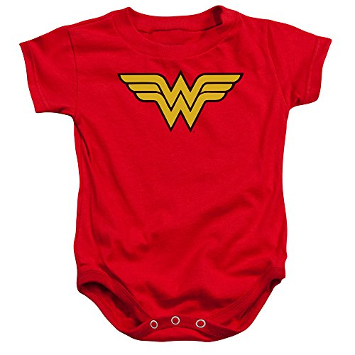 DC Comics Wonder Woman Logo Unisex Baby Snapsuit
