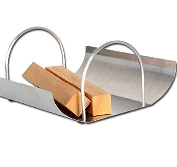 design kamin holztrage edelstahl ofen tragekorb elecsa. Black Bedroom Furniture Sets. Home Design Ideas