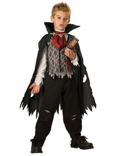 Kids-Costume Vampire B Slayed Child Sz6-8 Halloween Costume - Child 6-8