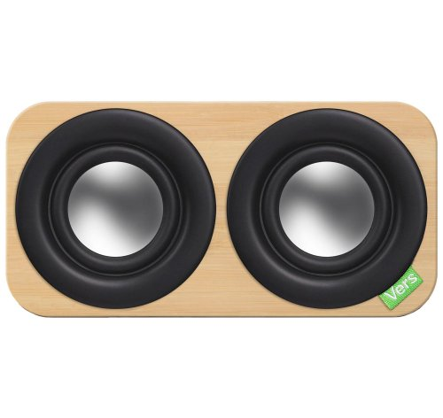 Vers Audio Q202 2Q Bluetooth Sound System (Bamboo)