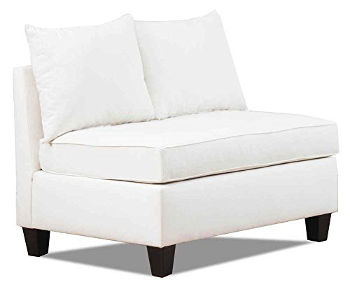 Carolina Accents Belle Meade Armless Loveseat, Natural