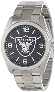 Game Time Unisex NFL-ELI-OAK Elite Oakland Raiders 3-Hand Analog Watch by Game Time