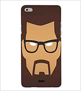 PRINTSWAG MAN FACE Designer Back Cover Case for MICROMAX CANVAS SLIVER 5 Q450