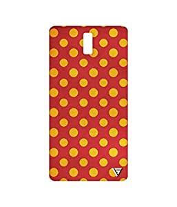 Vogueshell Dotted Pattern Printed Symmetry PRO Series Hard Back Case for Oneplus One
