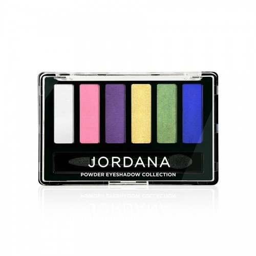 (6 Pack) JORDANA Made To Last Powder Eyeshadow Collection - Bright Idea
