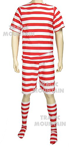 Men's Old Fashioned 1920's Bathing Suit Costume