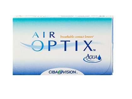 Air Optix Aqua Contact Lenses (6 lenses/box - 1 box)