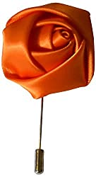 URBAN DISENO Men's Lapel Pins (ud909, Orange)