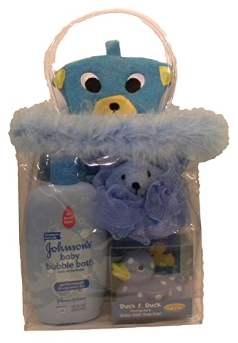 Bear Bath Time Kit with Johnson's Baby Bubble Bath